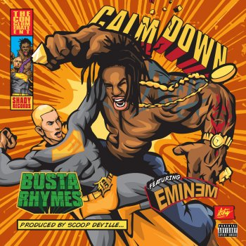 Calm Down by Busta Rhymes feat. Eminem - cover art