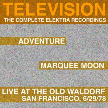 Testi Marquee Moon / Adventure / Live At the Waldorf (The Complete Elektra Recordings Plus Liner Notes)
