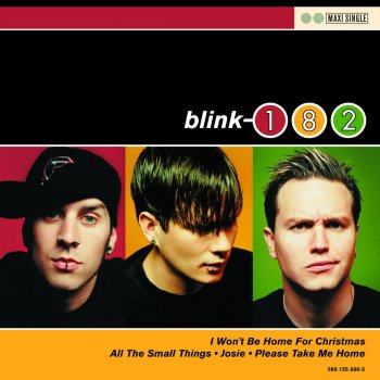 I Won't Be Home for Christmas by Blink-182 - cover art