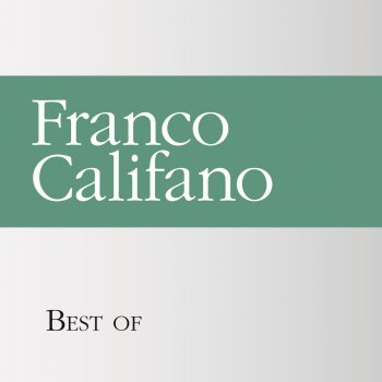 Testi Best of Franco Califano