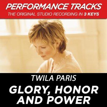 Testi Glory, Honor and Power (Performance Tracks)