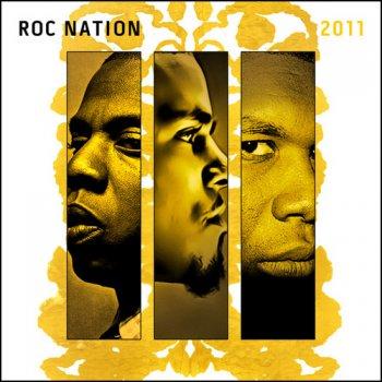 Monster by Jay-Z feat. Rick Ross, Kanye West, Nicki Minaj & Bon Iver - cover art