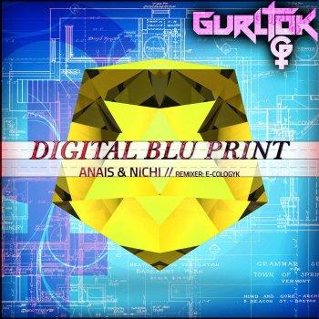 Testi Digital Blu Print