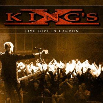 Testi King's X - Live Love In London
