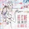 All About Us lyrics – album cover