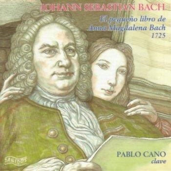 Bach: El Pequeño Libro de Anna Magdalena Bach by Pablo Cano
