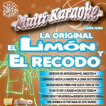 Canta Como: La Original El LimónEl Recodo                                                     by Banda Los Yaki – cover art