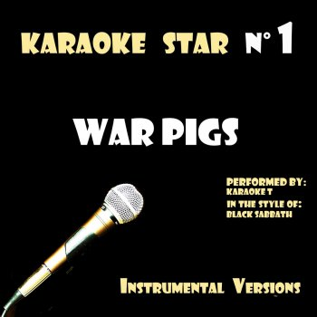 Testi War Pigs (in the style of Black Sabbath) [Karaoke Versions]