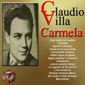 I testi delle canzoni dell 39 album carmela di claudio villa mtv - Aprite le finestre ...