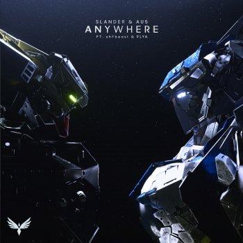 Anywhere (feat. shYbeast, PLYA) lyrics – album cover