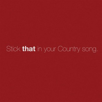 Testi Stick That in Your Country Song - Single