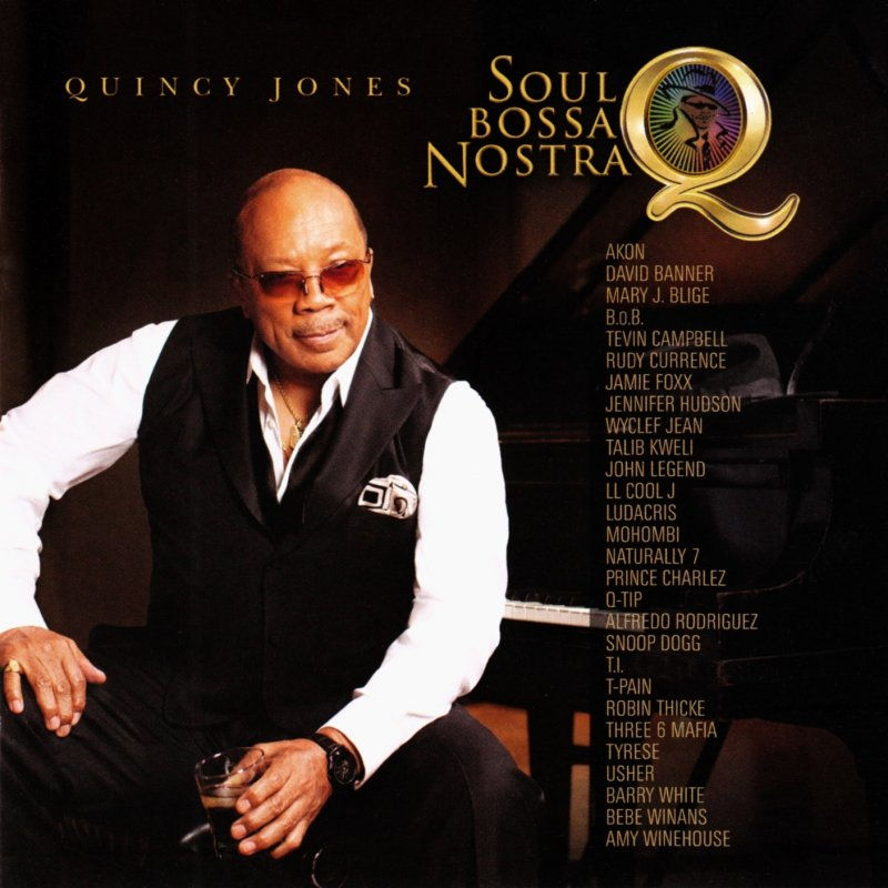 Quincy Jones, Usher, Robin Thicke, Tyrese Gibson, LL Cool J, Tevin ...
