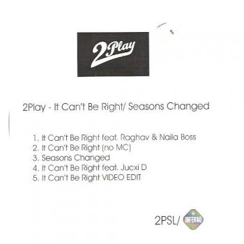 Testi It Can't Be Right / Seasons Changed