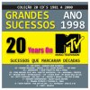 20 Years on MTV: 1998 Various Artists - cover art