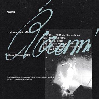 Testi … Dal vivo (Live in Milano) - EP
