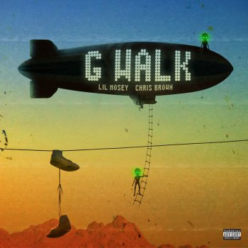 G Walk by Lil Mosey feat. Chris Brown - cover art