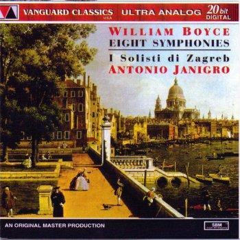 Testi William Boyce: Eight Symphonie