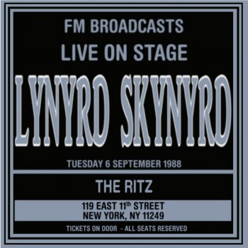 Testi Live On Stage FM Broadcasts - The Ritz 6th September 1988