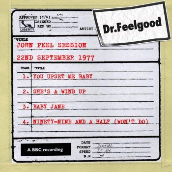 Testi Dr Feelgood - BBC John Peel session (22nd September 1977)