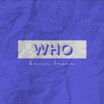 Who - Single - cover art