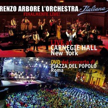 Testi Renzo Arbore l'orchestra Italiana at Carnegie Hall New York
