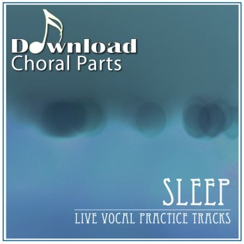 Sleep (Live Vocal Practice Tracks) - cover art