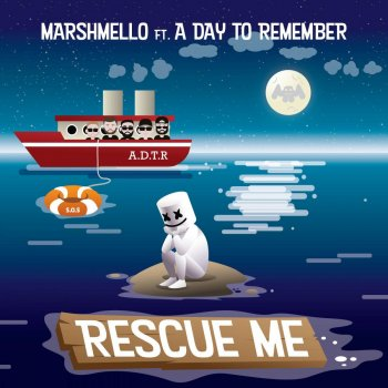 Rescue Me by Marshmello feat. A Day To Remember - cover art