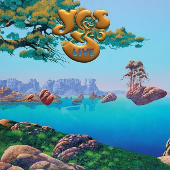 Yes 50 Live - cover art