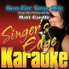 Run for Your Life (Originally Performed by Matt Cardle) - Vocal Version lyrics – album cover