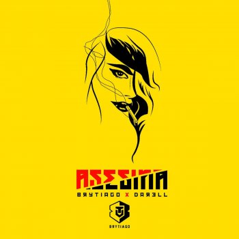 Asesina by Brytiago feat. Darell - cover art