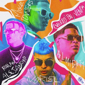 Noriel feat. Myke Towers, Rauw Alejandro & Almighty -                            cover art