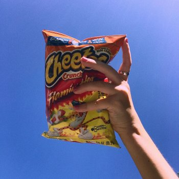 Testi Flaming Hot Cheetos