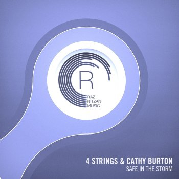 Safe In The Storm by 4 Strings feat. Cathy Burton - cover art