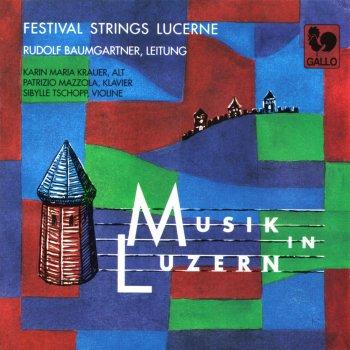Testi Musik in Luzern: Werke für Streichorchester (Works for String Orchestra)