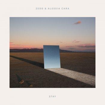 Stay by Zedd feat. Alessia Cara - cover art