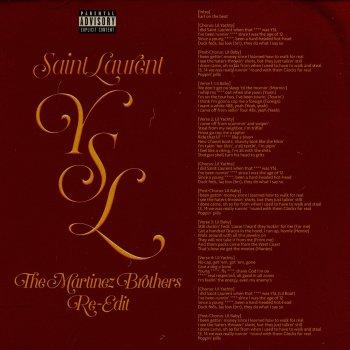 Testi SaintLaurentYSL (feat. Lil Baby) [The Martinez Brothers Re-Edit] - Single
