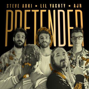 Pretender by Steve Aoki feat. Lil Yachty & AJR - cover art