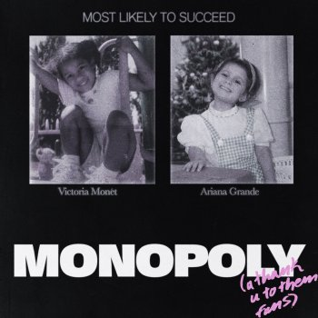 MONOPOLY by Ariana Grande feat. Victoria Monét - cover art