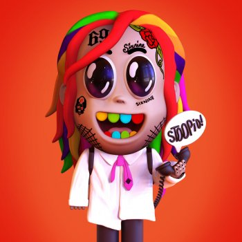 STOOPID by 6ix9ine feat. Bobby Shmurda - cover art