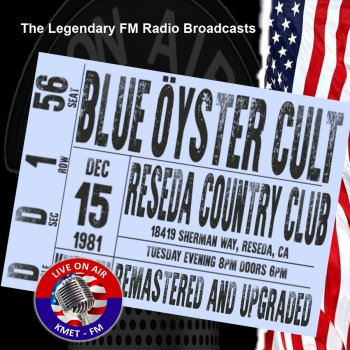 Testi Legendary FM Broadcasts - Reseda Country Club, Reseda CA 15th December 1981