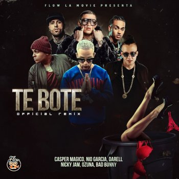 Te Boté (Remix) lyrics – album cover