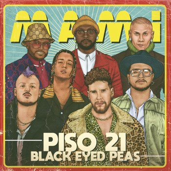 Mami by Piso 21 feat. The Black Eyed Peas - cover art