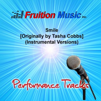 Smile (Originally Performed by Tasha Cobbs) [82bpm Percusion