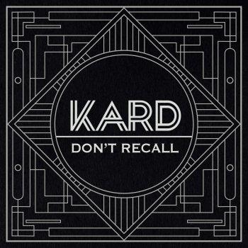 """Testi K.A.R.D Project Vol.2 """"Don't Recall"""""""