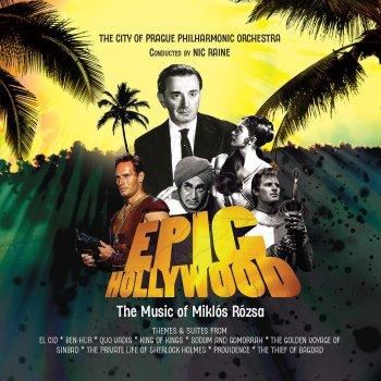 Testi Epic Hollywood: The Music of Miklos Rozsa