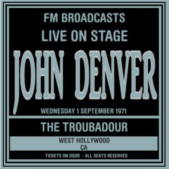 Testi Live On Stage FM Broadcasts - The Troubadour, West Hollywood 1st September 1971