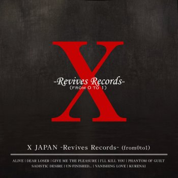 Testi X JAPAN [Revives Records-(from0to1)]