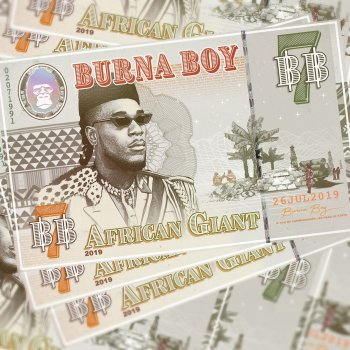 On the Low by Burna Boy - cover art