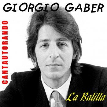 Testi Cantautorando Giorgio Gaber: La Balilla