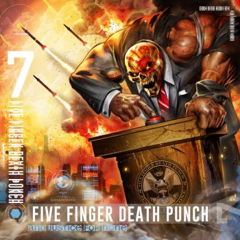 アンド・ジャスティス・フォー・ナン (通常盤)                                                     by Five Finger Death Punch – cover art